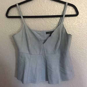 BCBG Light blue top